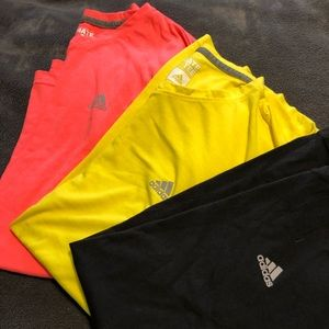 Set of three (3) work out tees